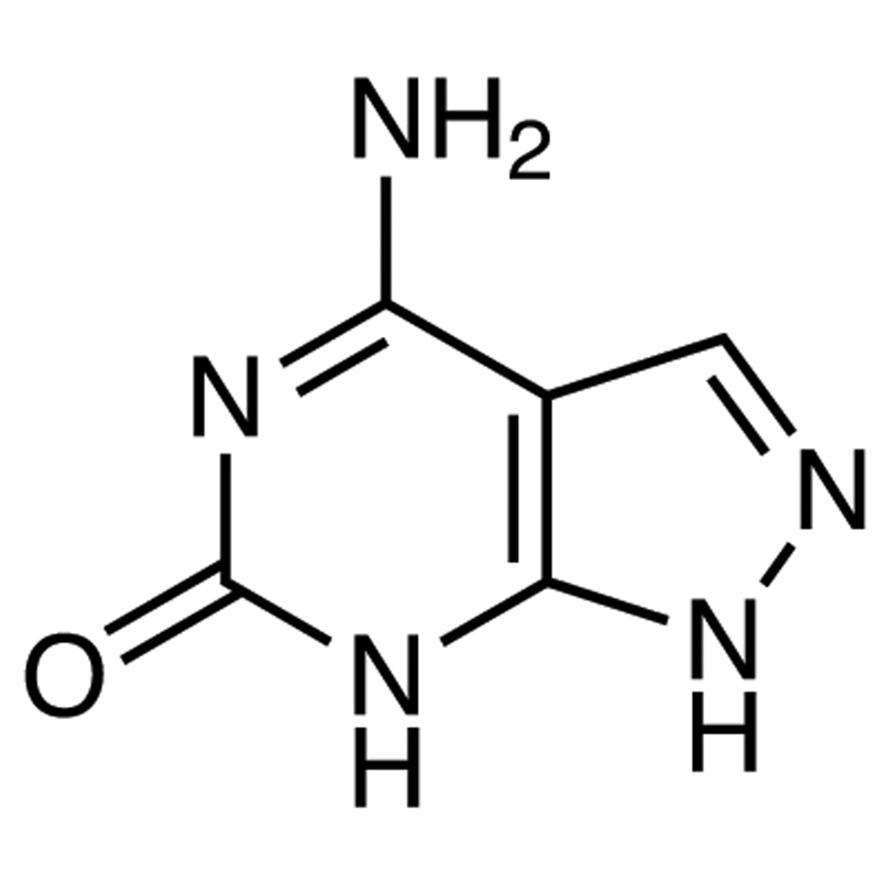 4-Amino-6-hydroxypyrazolo[3,4-d]pyrimidine