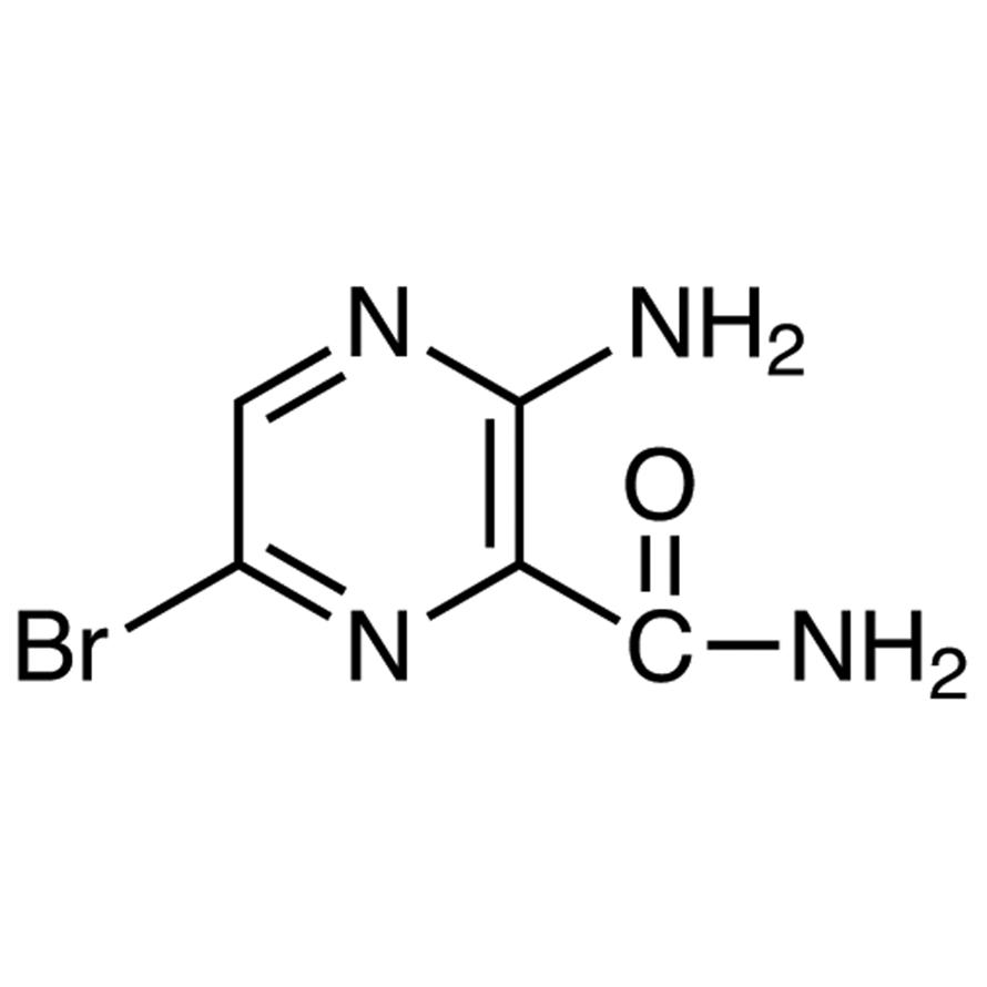 3-Amino-6-bromopyrazine-2-carboxamide