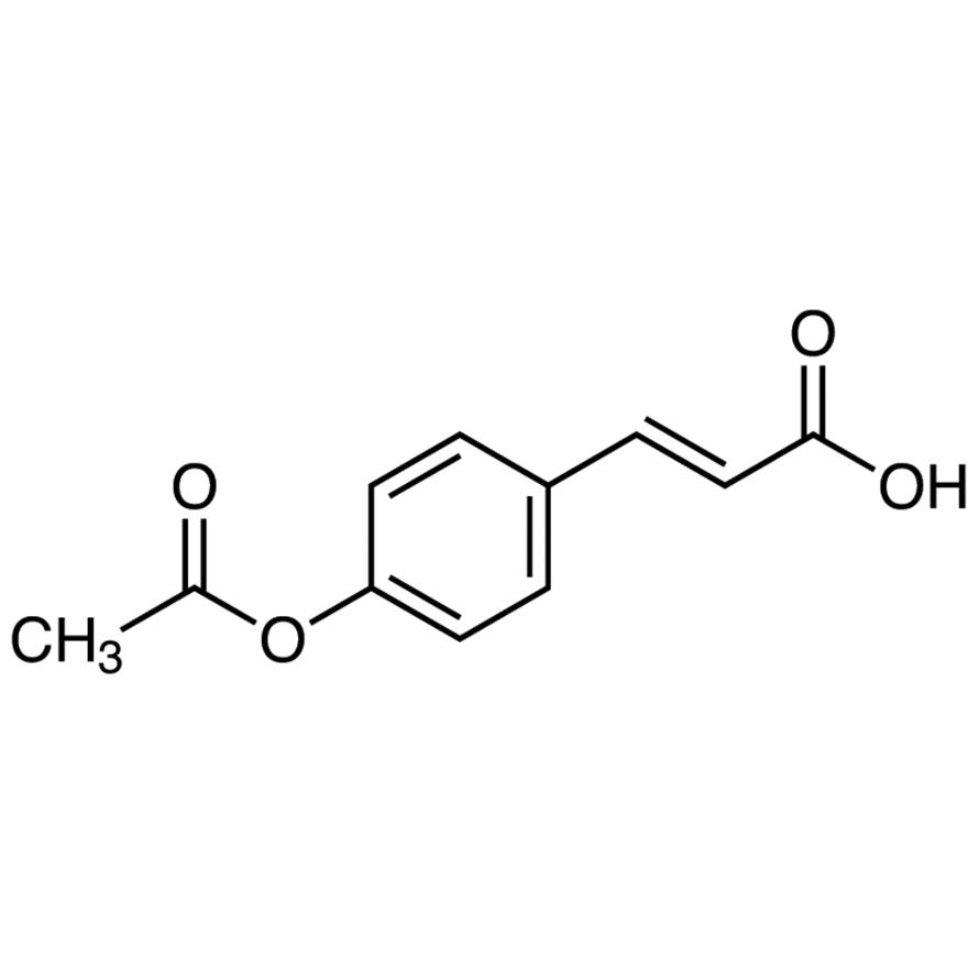 trans-4-Acetoxycinnamic Acid
