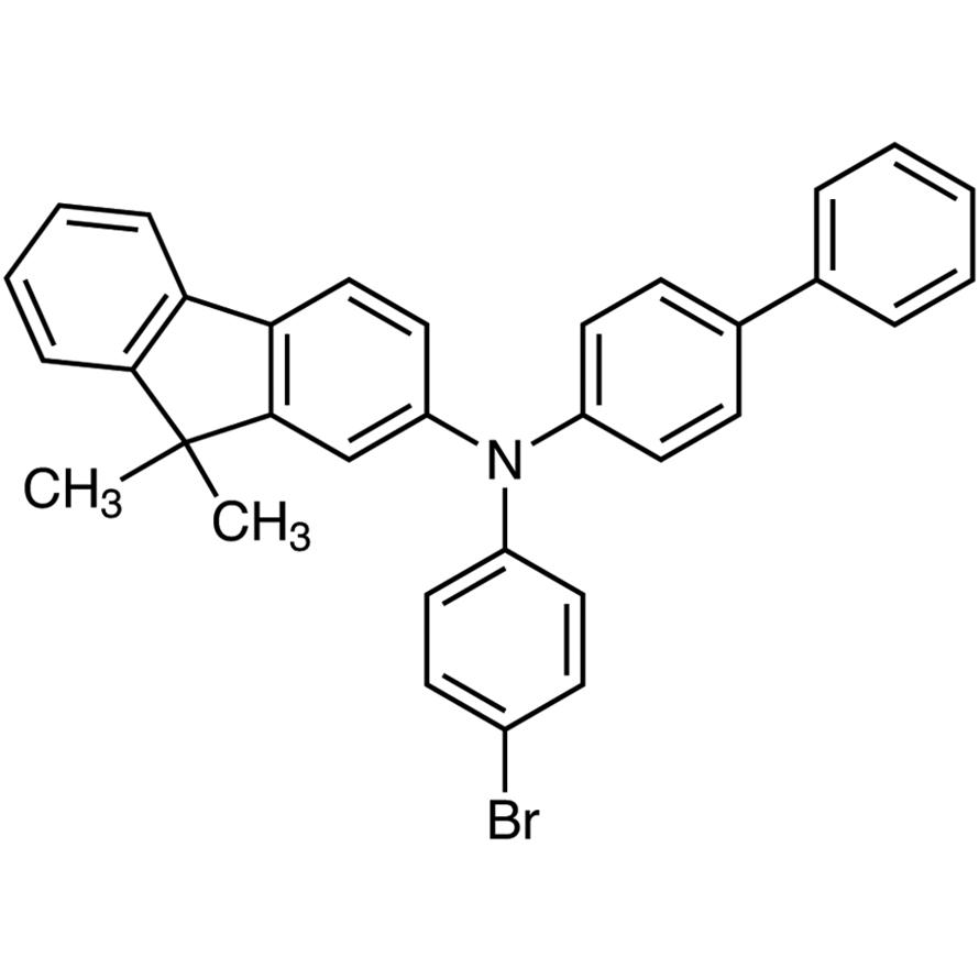 2-Amino-N-[(1,1'-biphenyl)-4-yl]-N-(4-bromophenyl)-9,9-dimethylfluorene