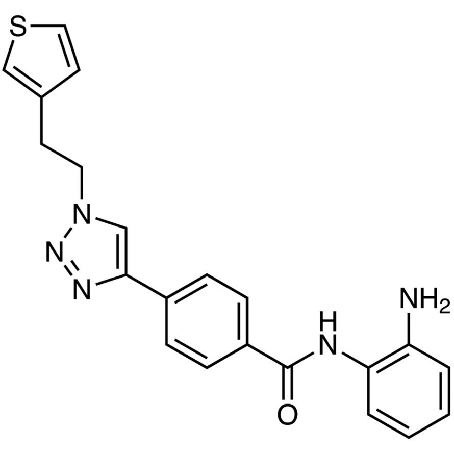 N-(2-Aminophenyl)-4-[1-[2-(3-thienyl)ethyl]-1H-1,2,3-triazol-4-yl]benzamide
