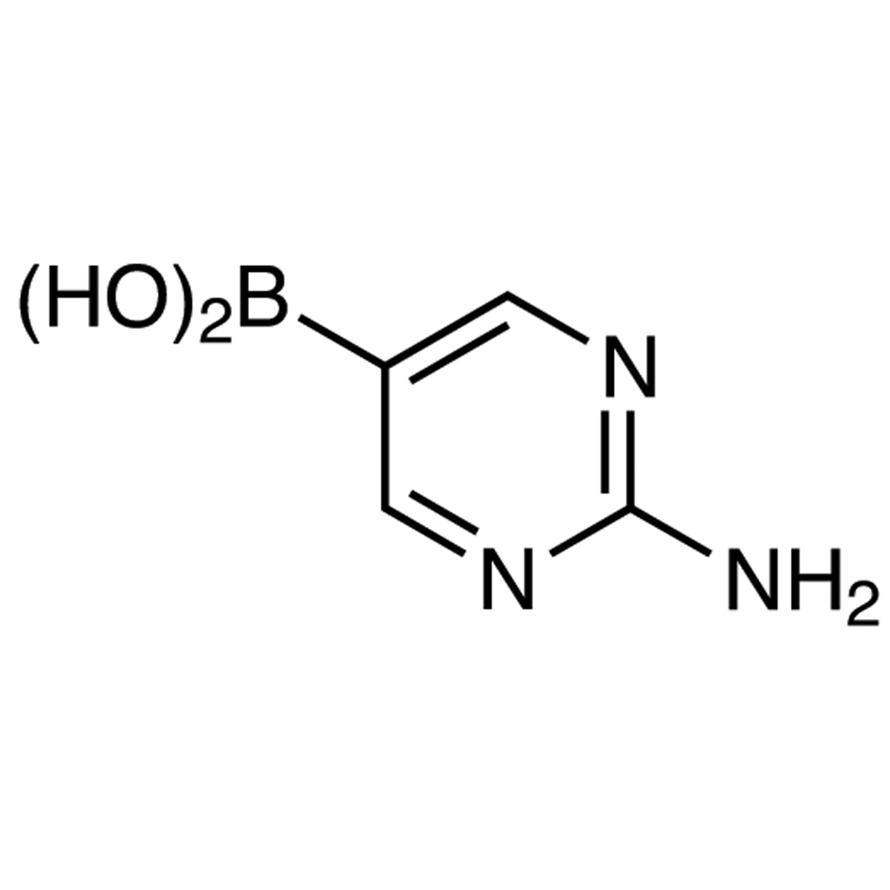 2-Aminopyrimidine-5-boronic Acid (contains varying amounts of Anhydride)