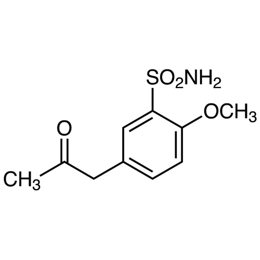 5-Acetonyl-2-methoxybenzenesulfonamide