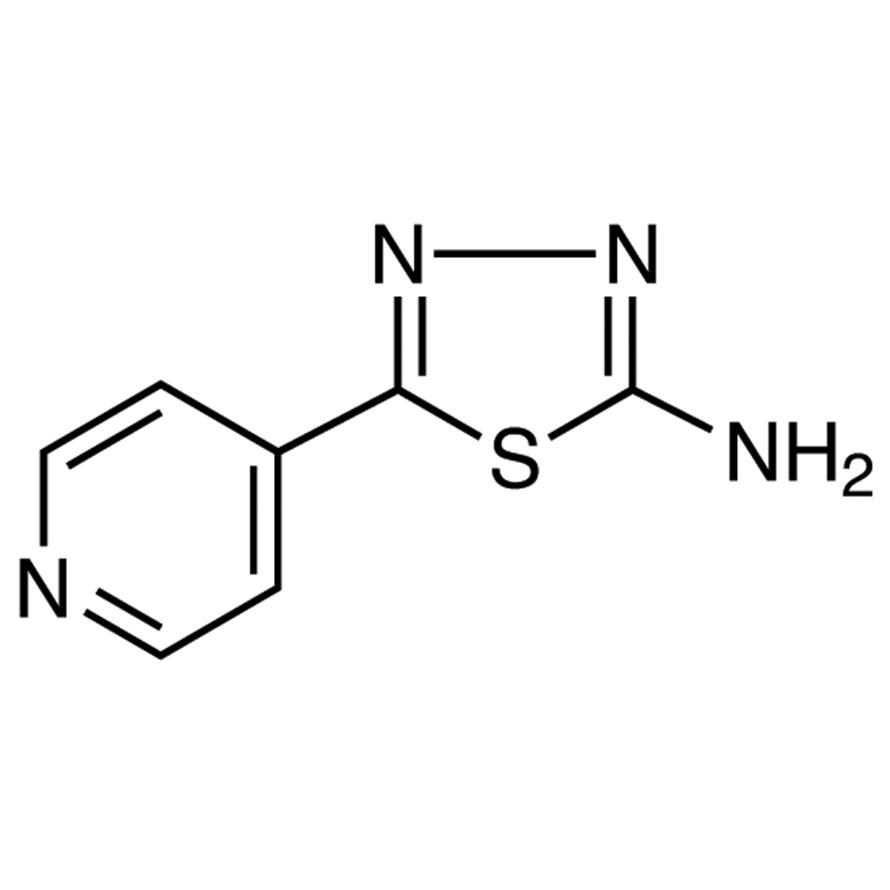 2-Amino-5-(4-pyridyl)-1,3,4-thiadiazole