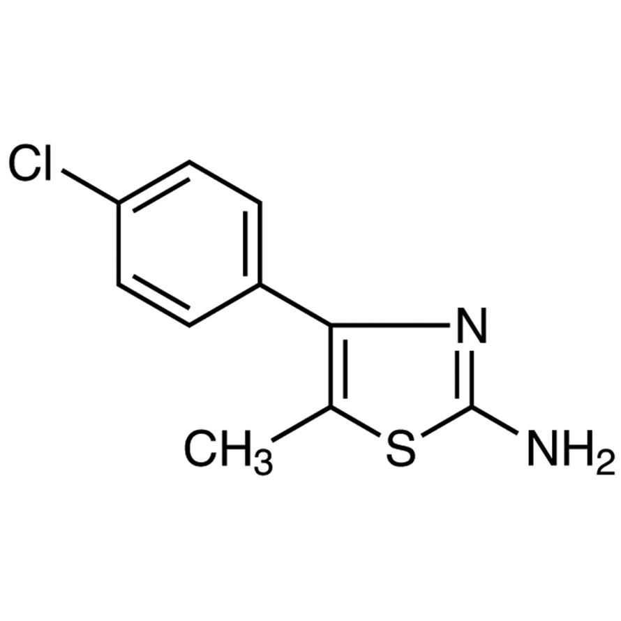 2-Amino-4-(4-chlorophenyl)-5-methylthiazole