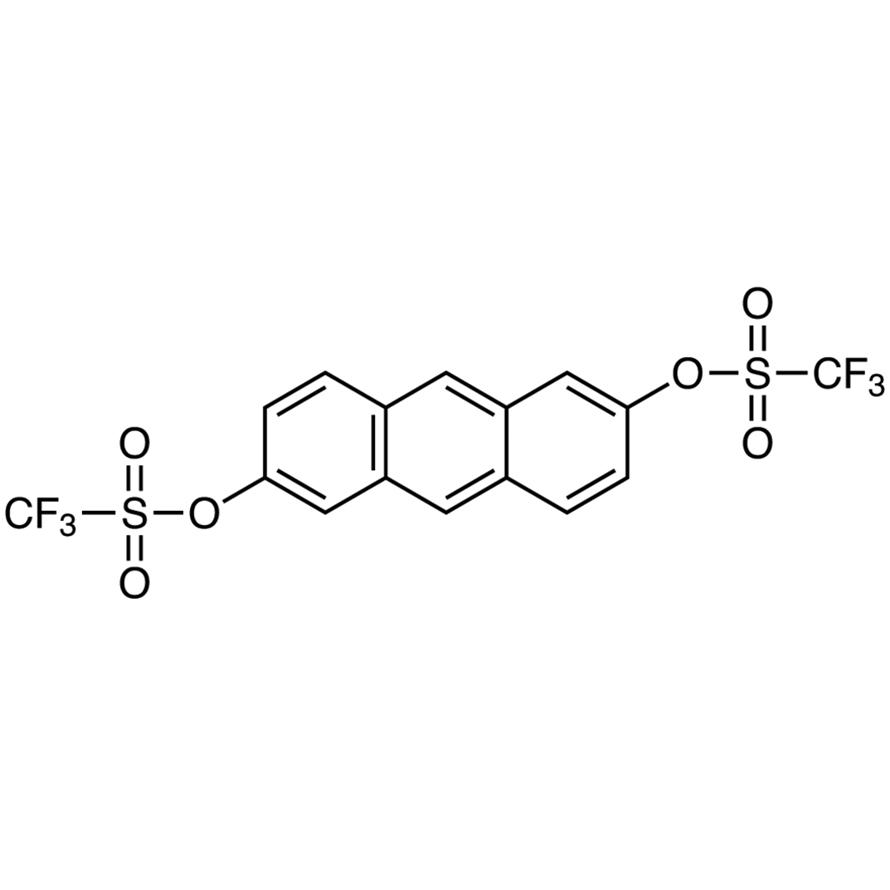 Anthracene-2,6-diyl Bis(trifluoromethanesulfonate)