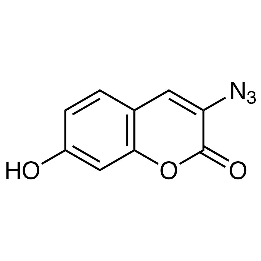 3-Azido-7-hydroxycoumarin