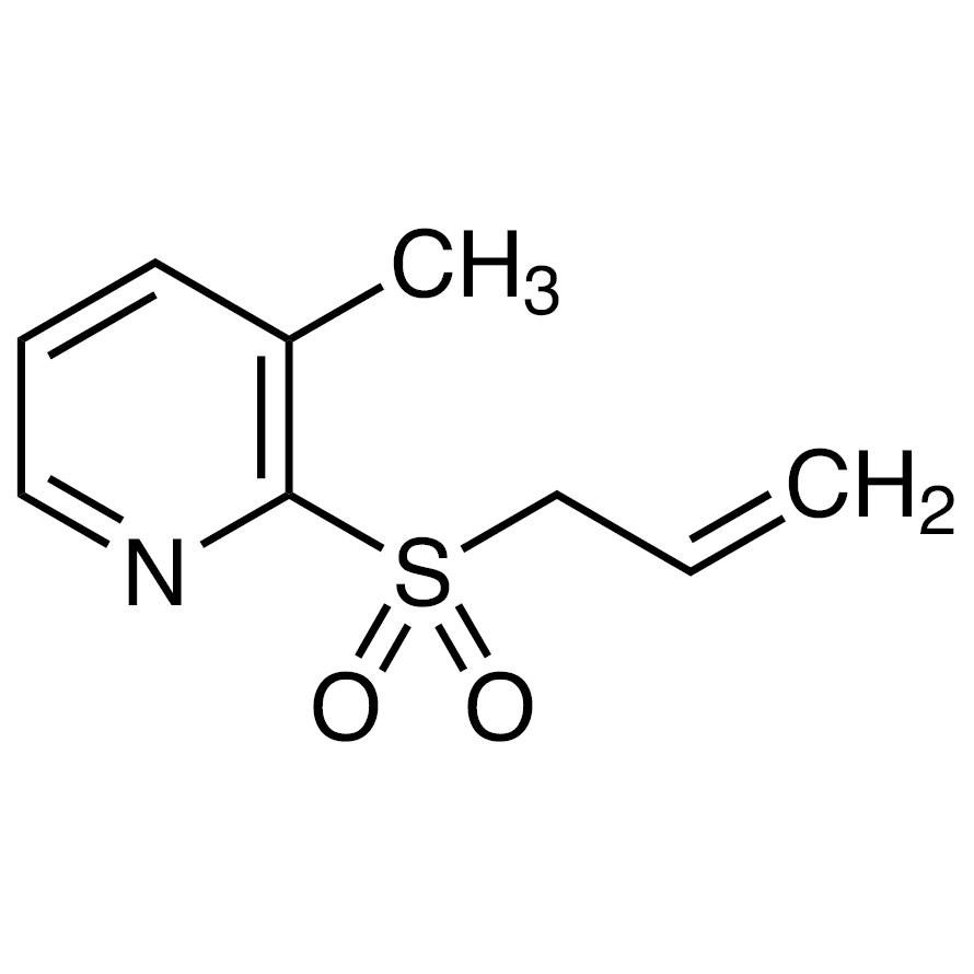 2-(Allylsulfonyl)-3-methylpyridine