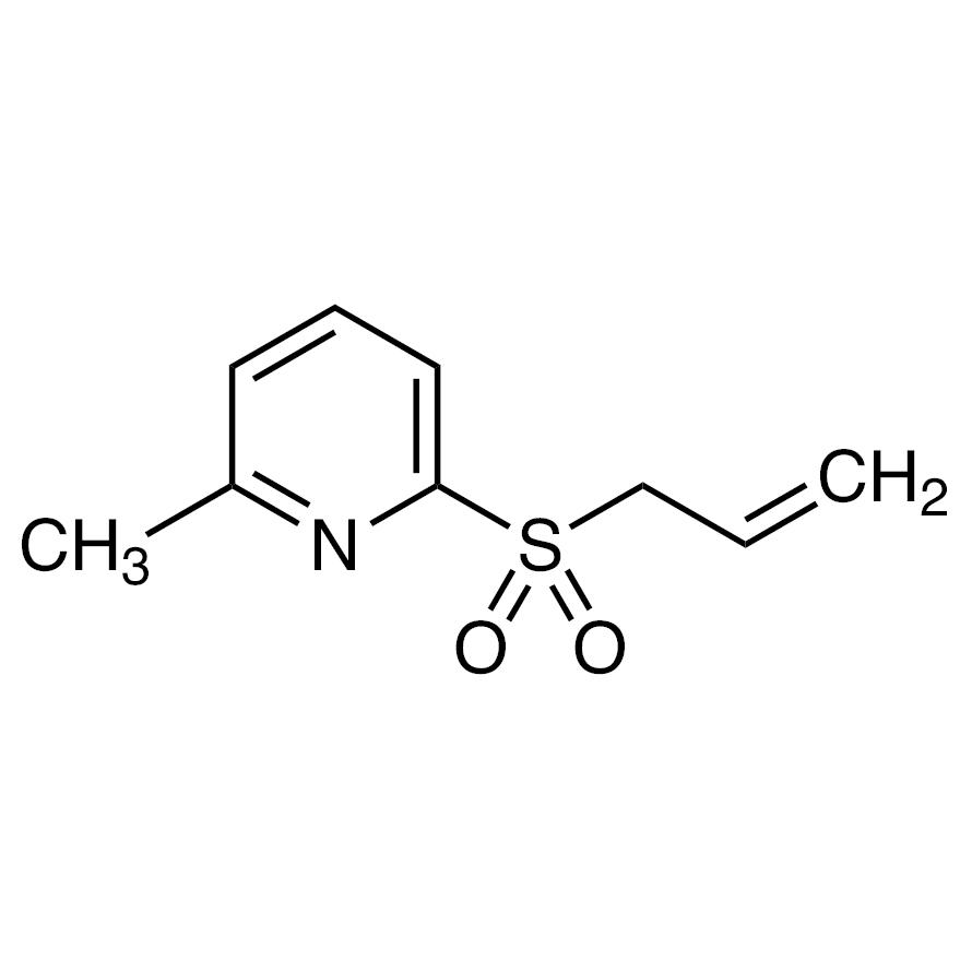 2-(Allylsulfonyl)-6-methylpyridine