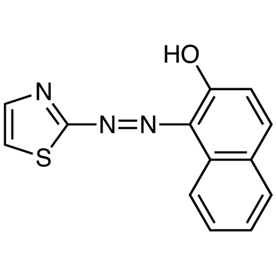 TAN [=1-(2-Thiazolylazo)-2-naphthol] [Spectrophotometric reagent for transition metals]