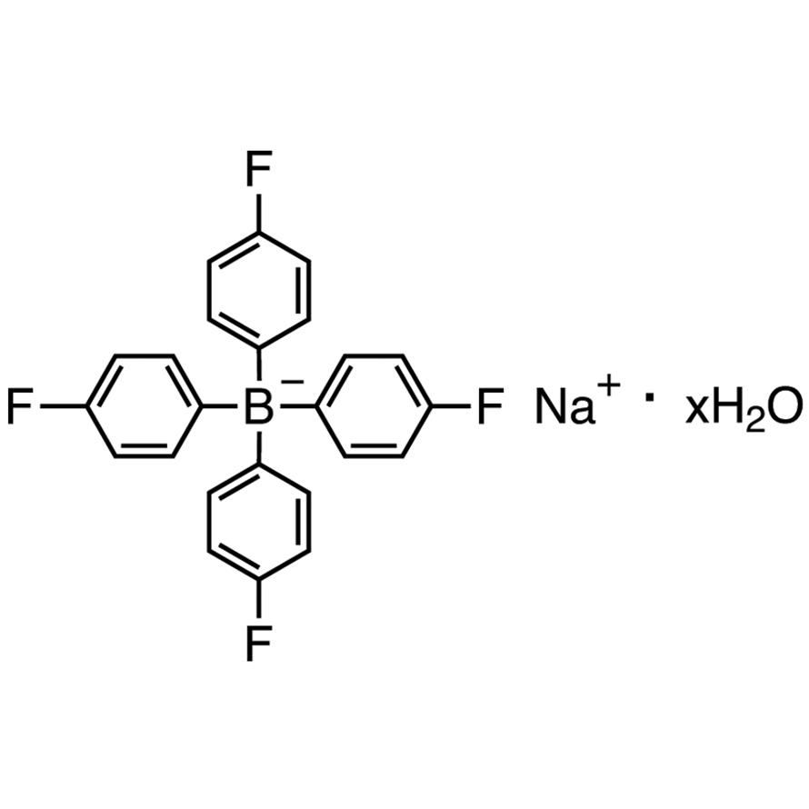 Sodium Tetrakis(4-fluorophenyl)borate Hydrate [Precipitation reagent for Cs and titrimetric reagent for nonionic surfactants]