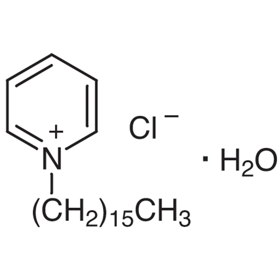 CPC Monohydrate (=Cetylpyridinium Chloride Monohydrate) [Ion association reagent for extraction photometric analysis and sensitizer in photometric determination of metals]