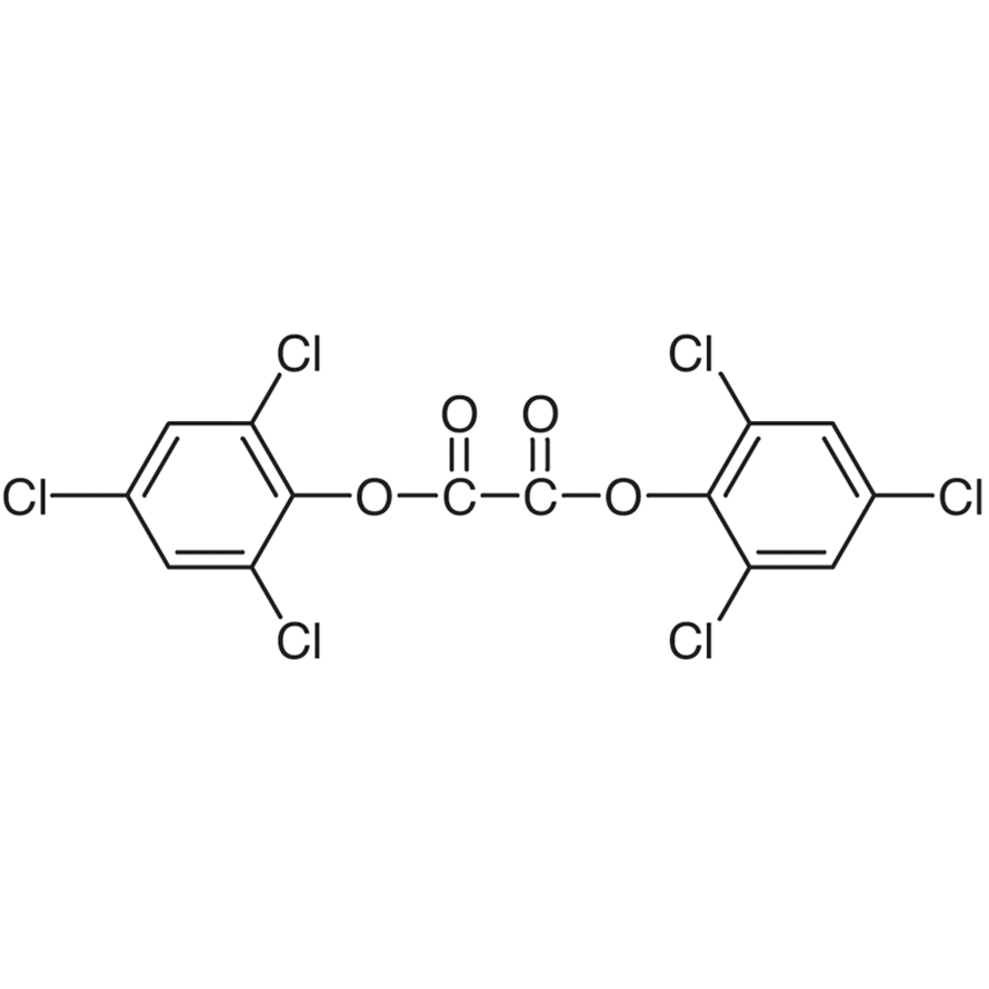 Bis(2,4,6-trichlorophenyl) Oxalate [Chemiluminescence reagent for the determination of fluorescent compounds]