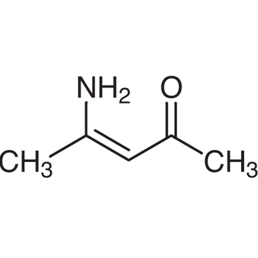 Fluoral-P (=4-Amino-3-penten-2-one) [Fluorimetric reagent for aldehydes.]