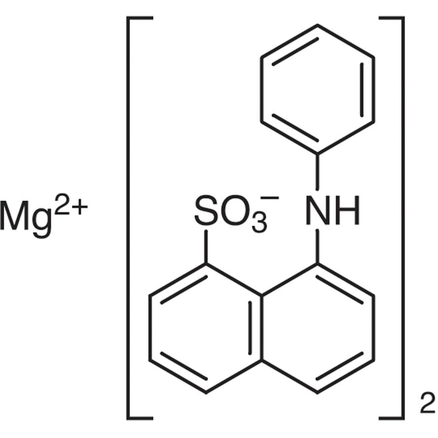 ANS-Mg (=Magnesium(II) 8-Anilino-1-naphthalenesulfonate) [Hydrophobic fluorescent probe]