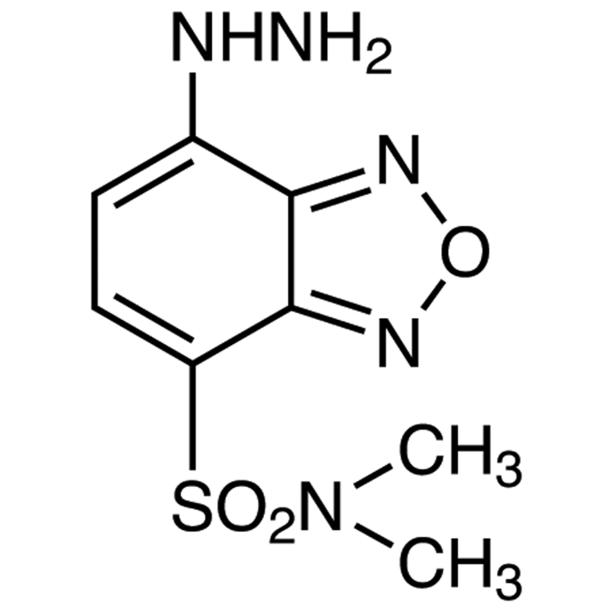 DBD-H [=4-(N,N-Dimethylaminosulfonyl)-7-hydrazino-2,1,3-benzoxadiazole] [for HPLC Labeling]