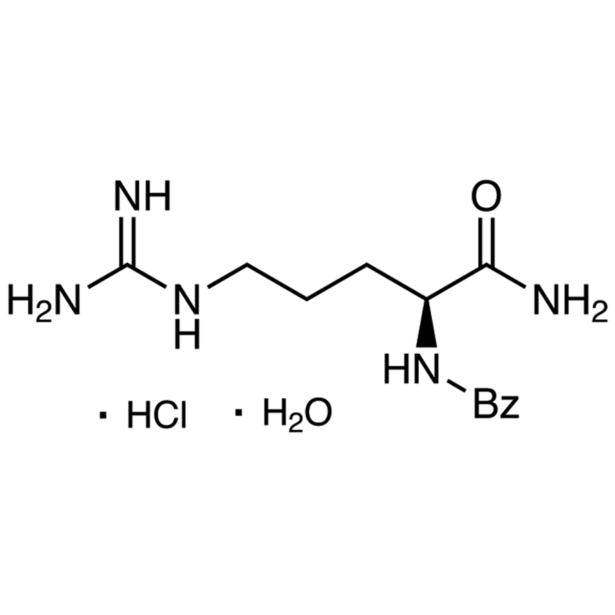 N-Benzoyl-L-argininamide Hydrochloride Monohydrate