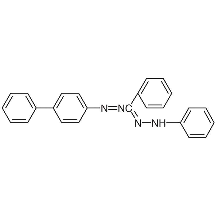 3,5-Diphenyl-1-(4-biphenylyl)formazan