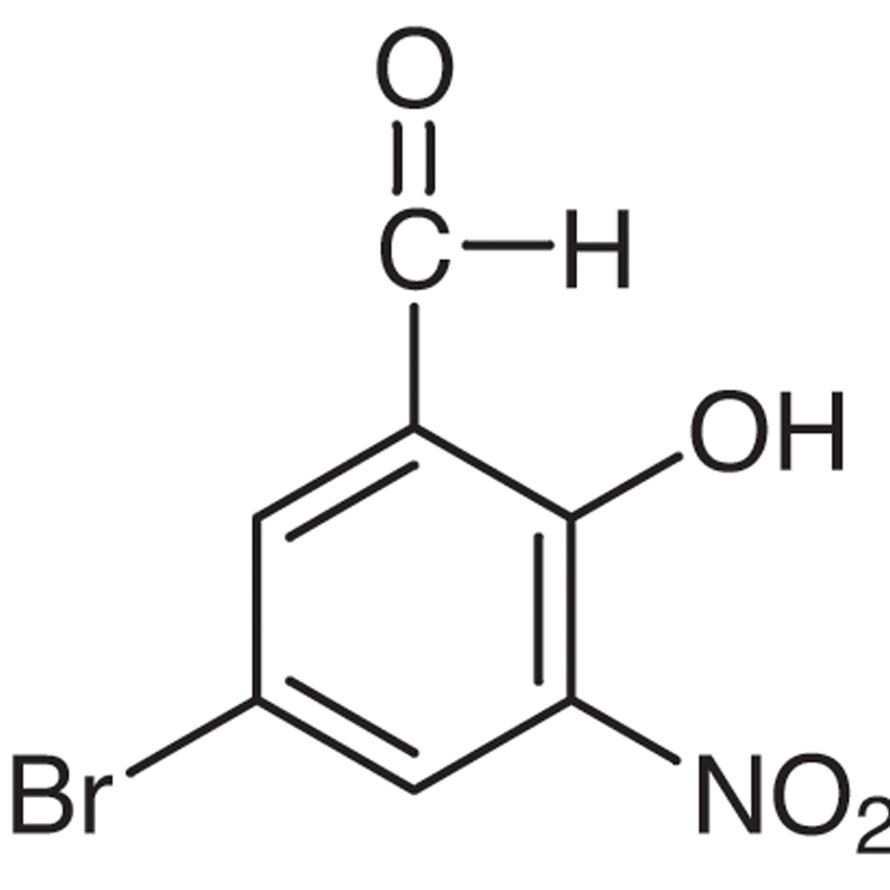 5-Bromo-3-nitrosalicylaldehyde