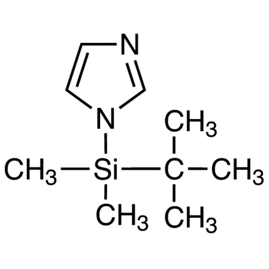 1-(tert-Butyldimethylsilyl)imidazole [tert-Butyldimethylsilylating Agent]