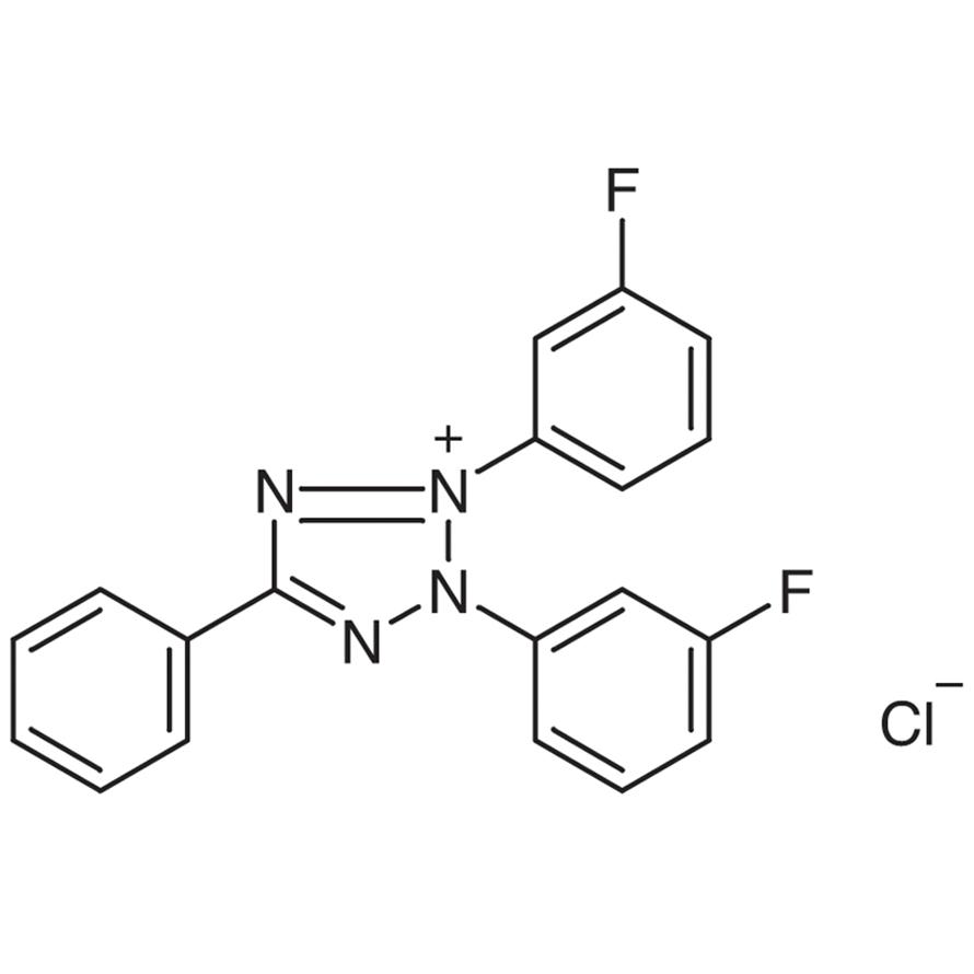 2,3-Bis(3-fluorophenyl)-5-phenyltetrazolium Chloride
