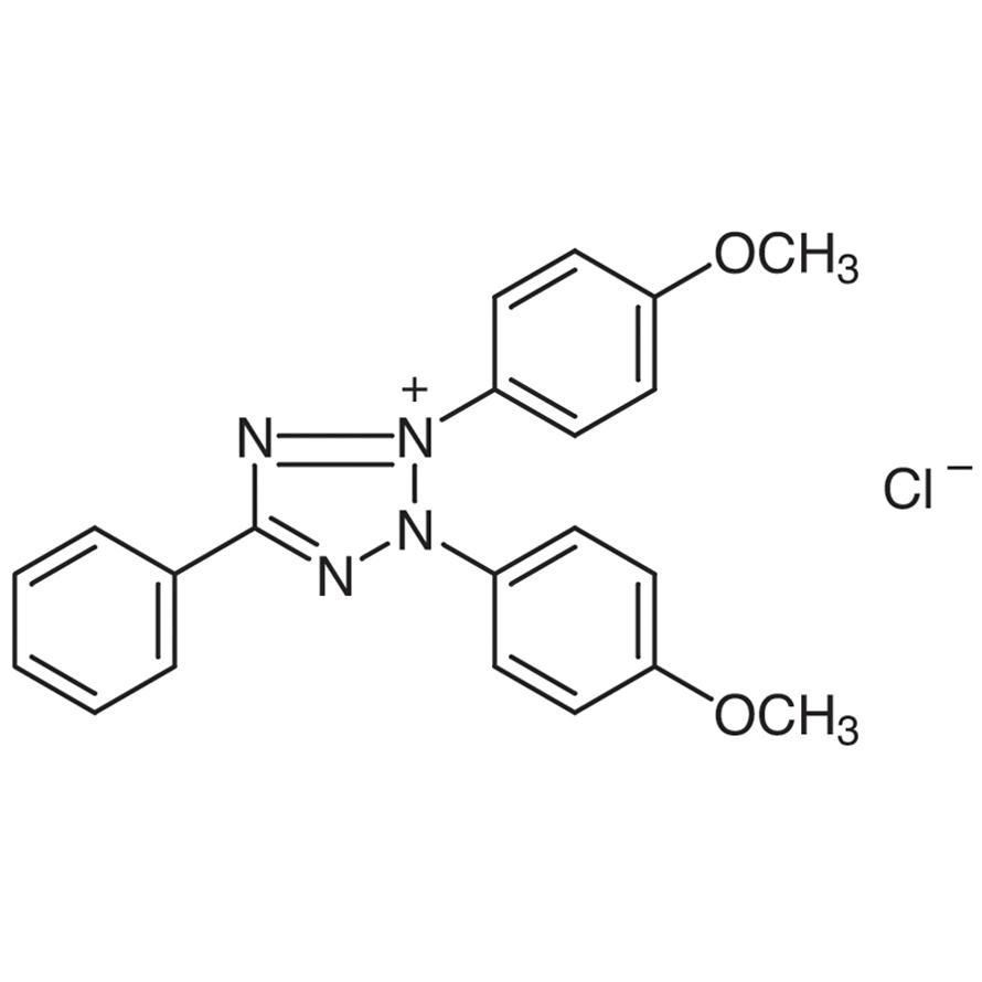 2,3-Bis(4-methoxyphenyl)-5-phenyltetrazolium Chloride