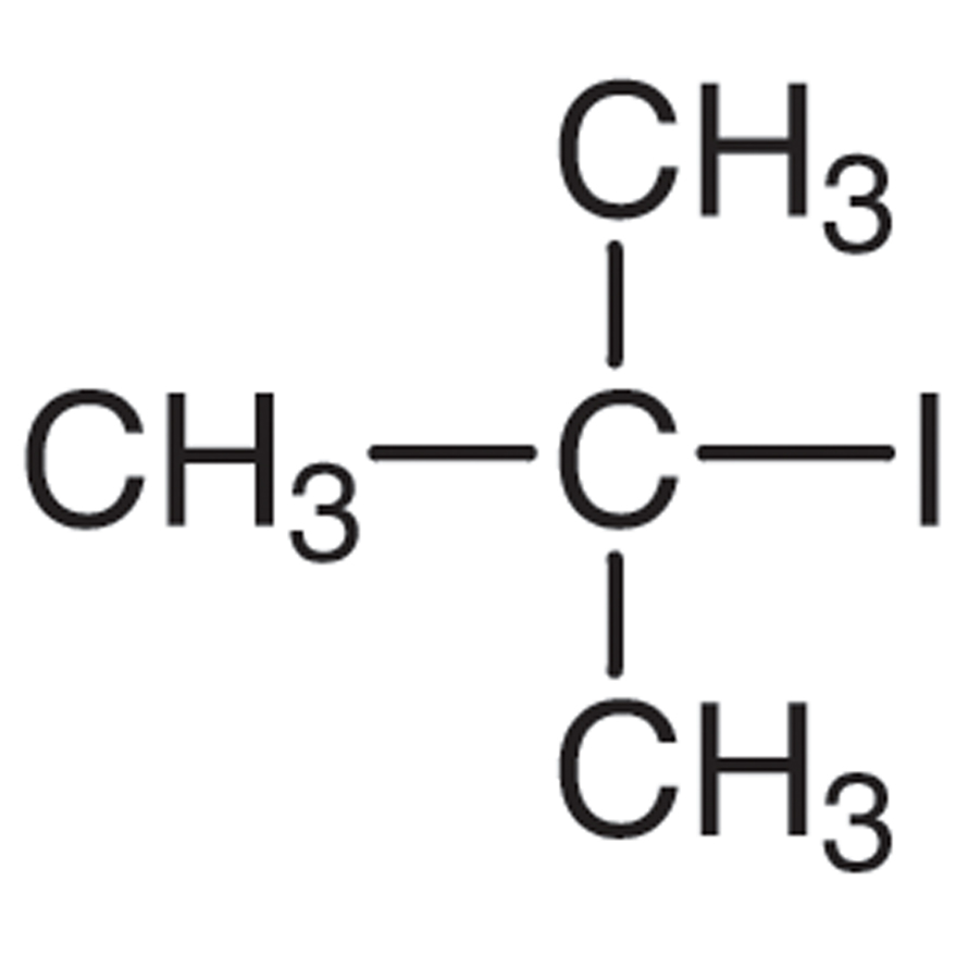 2-Iodo-2-methylpropane (stabilized with Copper chip)