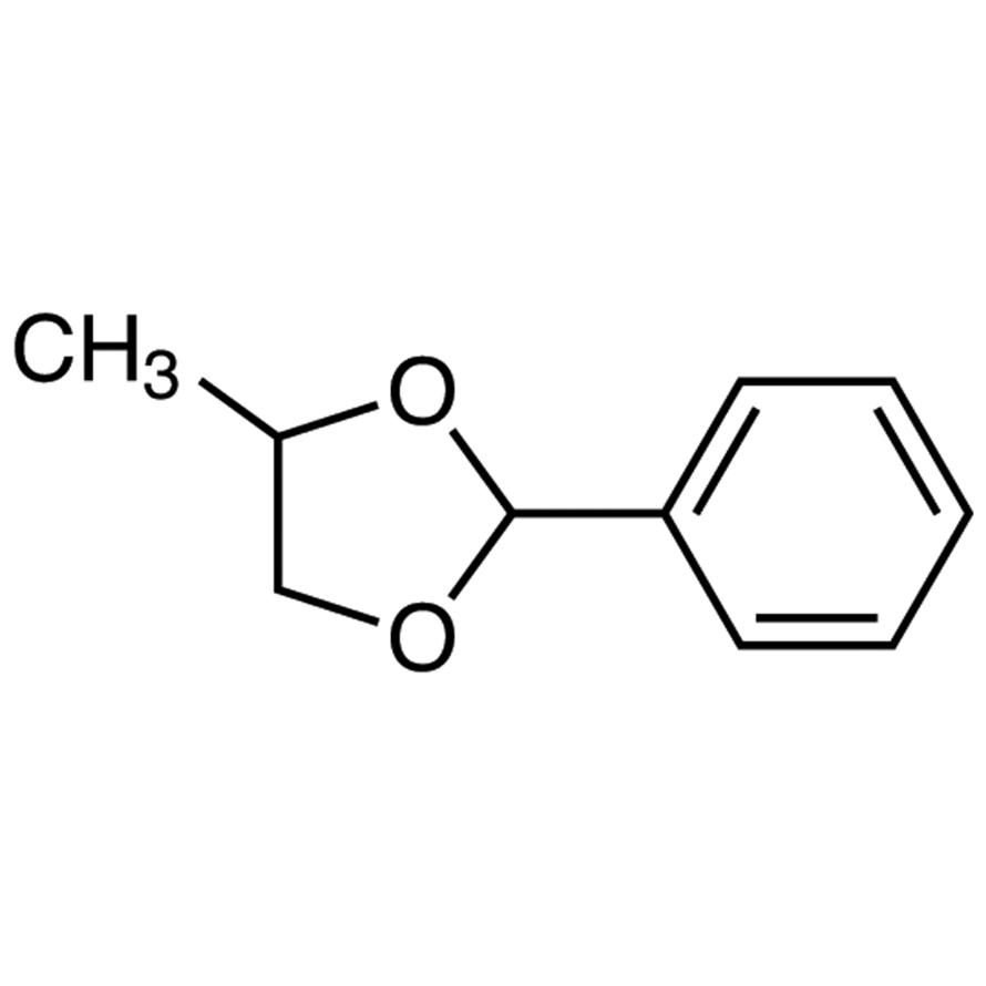 4-Methyl-2-phenyl-1,3-dioxolane (mixture of isomers)