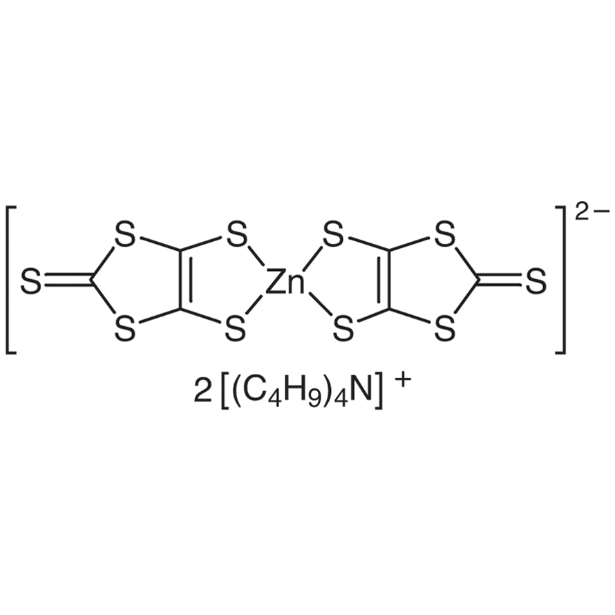 Bis(tetrabutylammonium) Bis(1,3-dithiole-2-thione-4,5-dithiolato)zinc Complex [Organic Electronic Material]