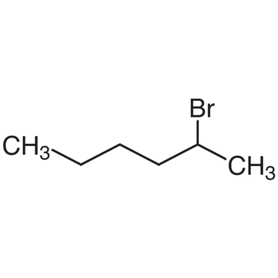 2-Bromohexane (contains 3-Bromohexane) (stabilized with Copper chip)