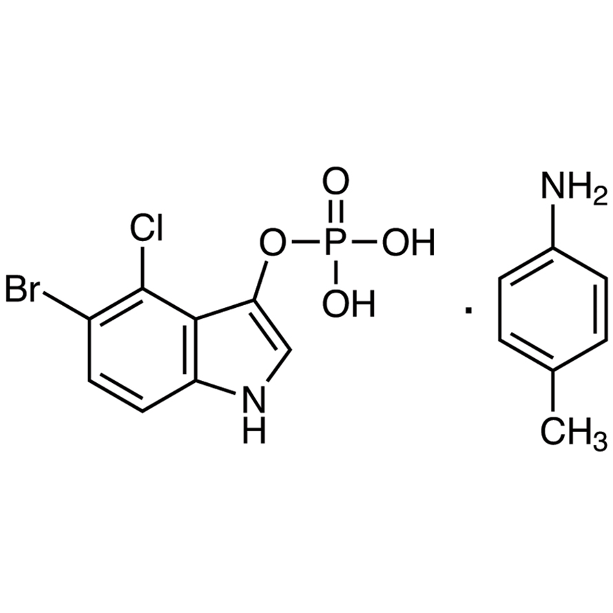 5-Bromo-4-chloro-3-indolyl Phosphate p-Toluidine Salt [for Biochemical Research]