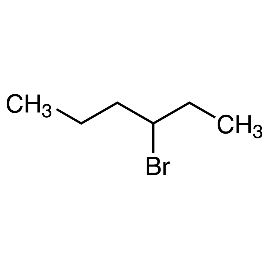 3-Bromohexane (contains 2-Bromohexane) (stabilized with Copper chip)