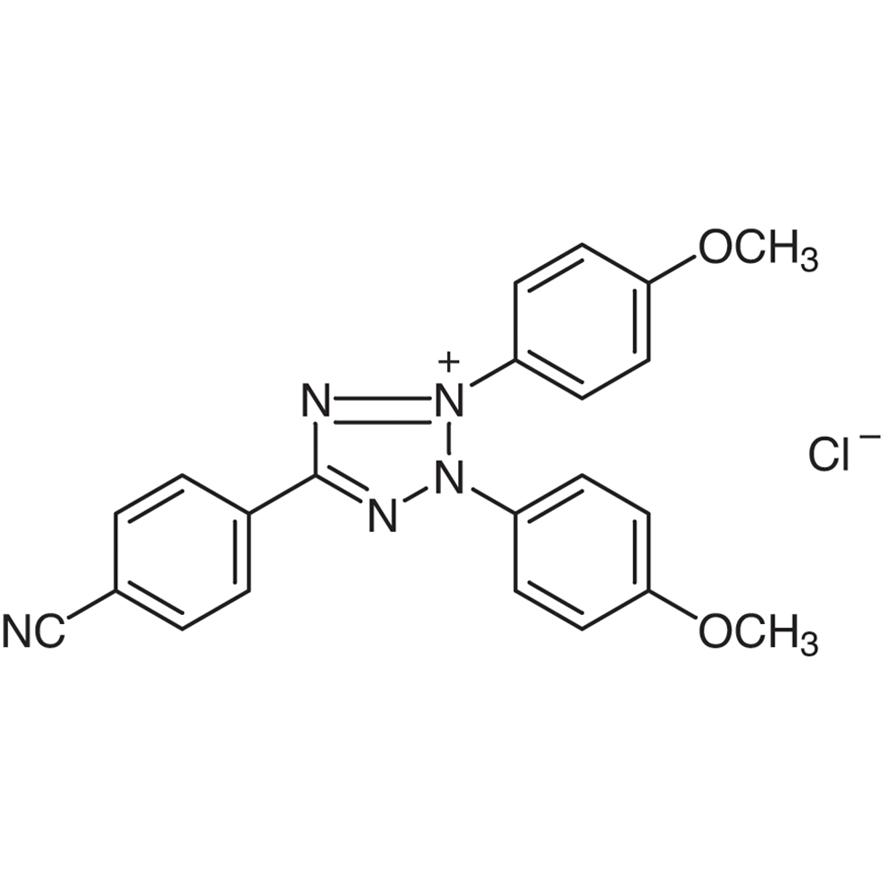 2,3-Bis(4-methoxyphenyl)-5-(4-cyanophenyl)tetrazolium Chloride