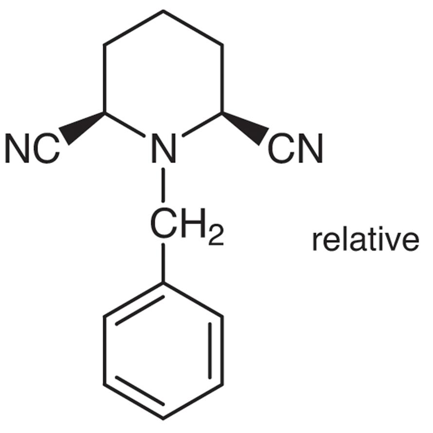 cis-1-Benzyl-2,6-dicyanopiperidine