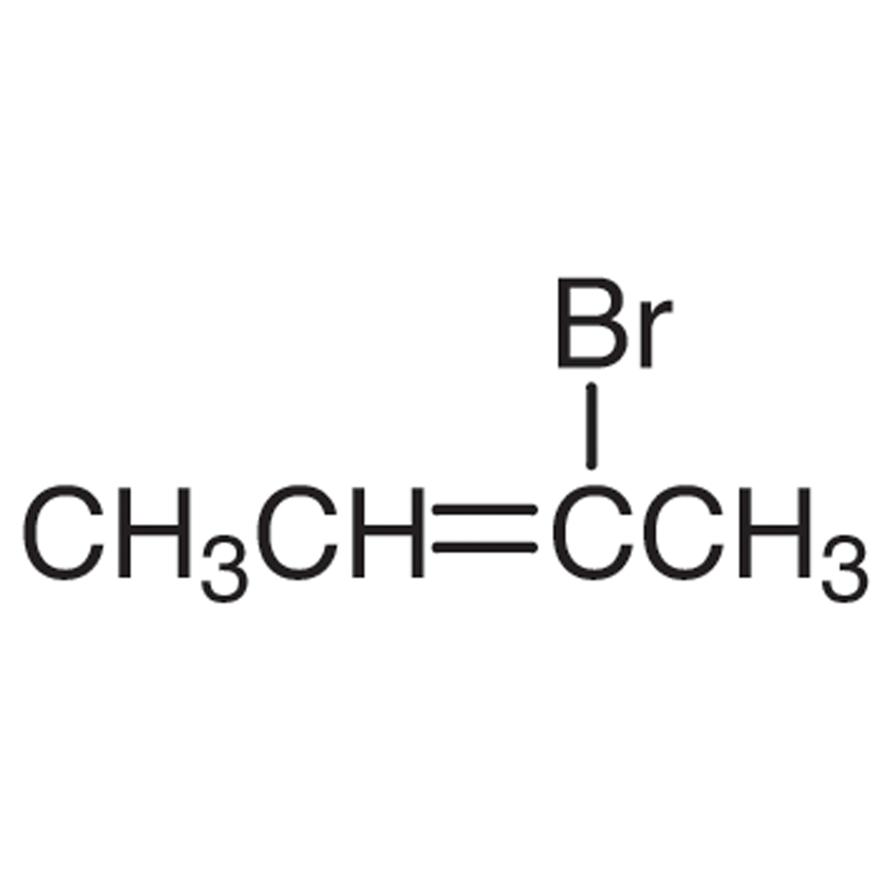 2-Bromo-2-butene (stabilized with Copper chip)