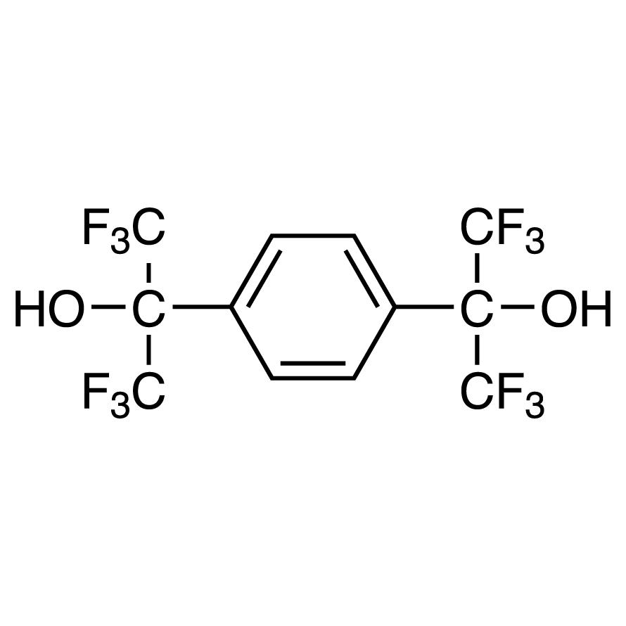 1,4-Bis(hexafluoro--hydroxyisopropyl)benzene Hydrate