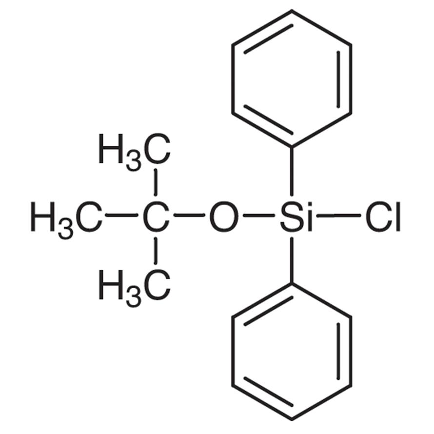 tert-Butoxydiphenylchlorosilane (stabilized with CaCO3)