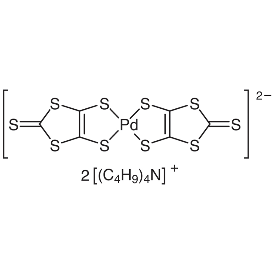 Bis(tetrabutylammonium) Bis(1,3-dithiole-2-thione-4,5-dithiolato)palladium(II)