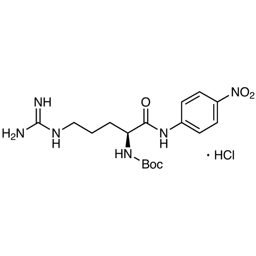 N-(tert-Butoxycarbonyl)-L-arginine 4-Nitroanilide Hydrochloride