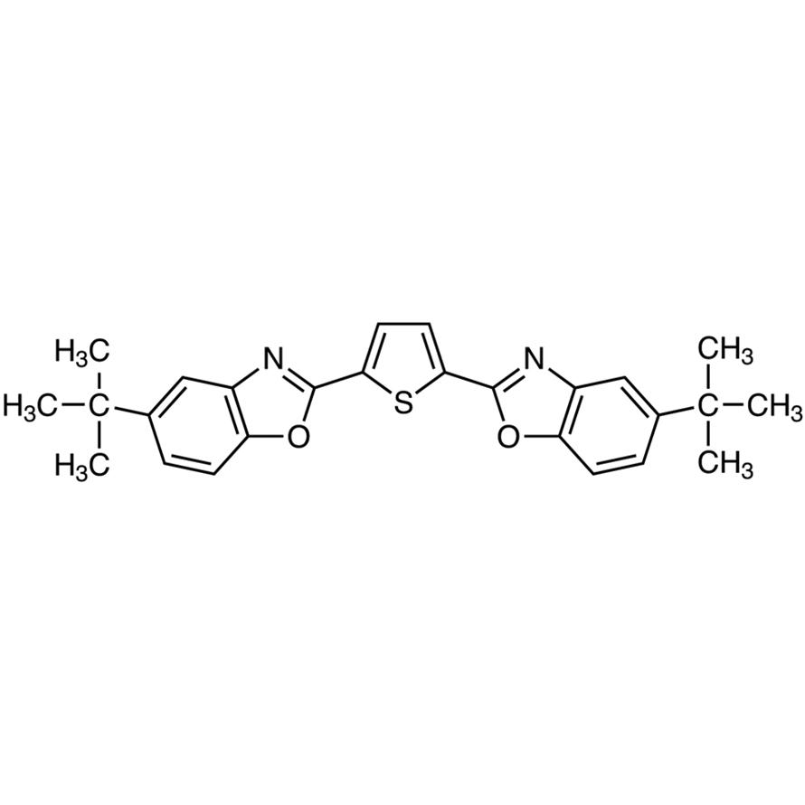 2,5-Bis(5-tert-butyl-2-benzoxazolyl)thiophene