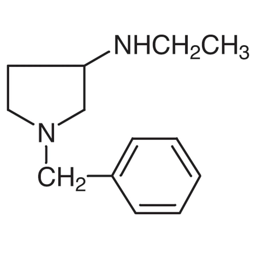 1-Benzyl-3-(ethylamino)pyrrolidine