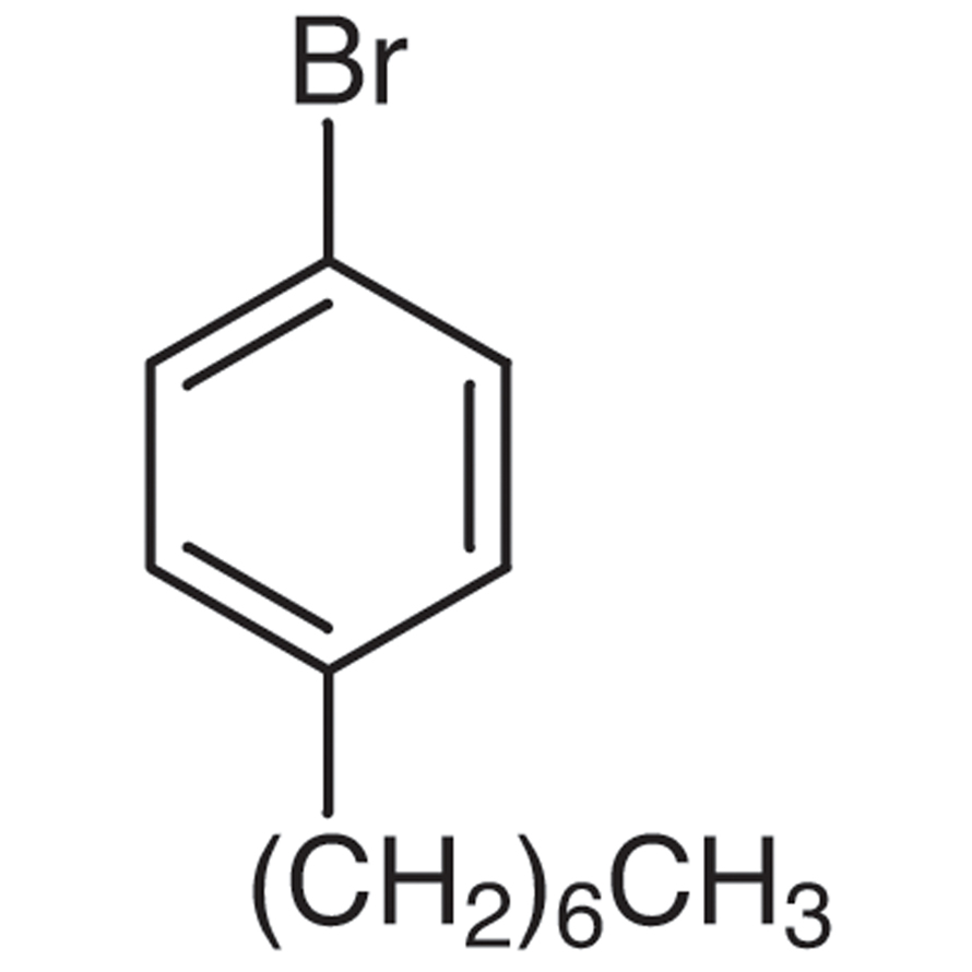 1-Bromo-4-heptylbenzene (stabilized with Copper chip)