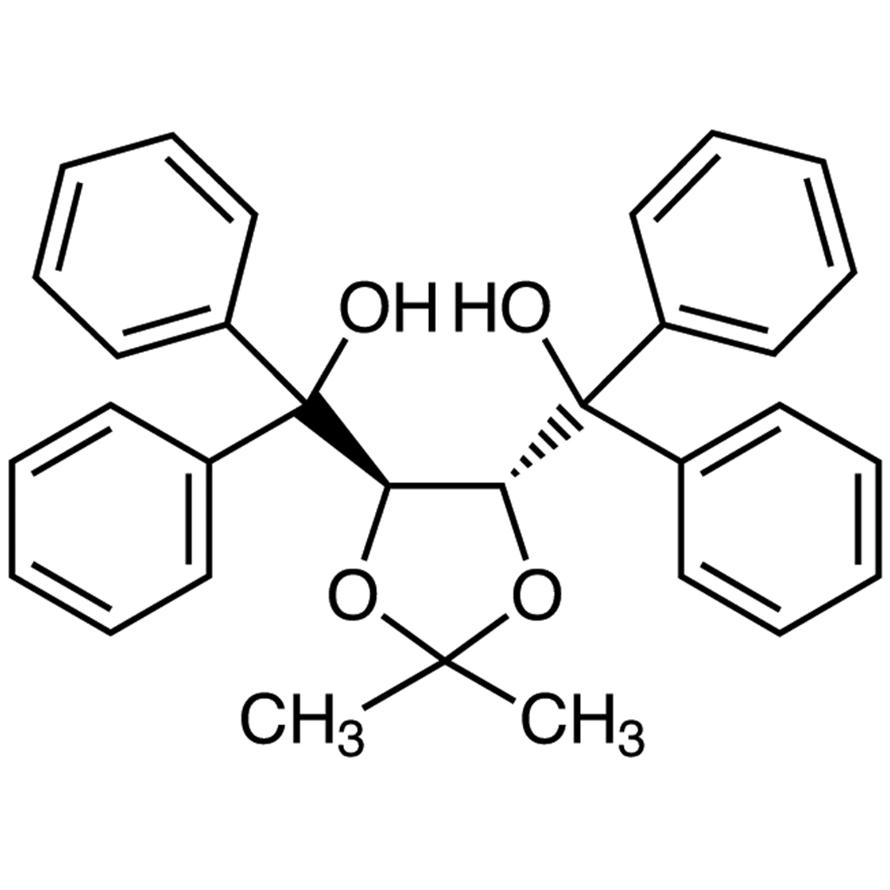 (-)-4,5-Bis[hydroxy(diphenyl)methyl]-2,2-dimethyl-1,3-dioxolane