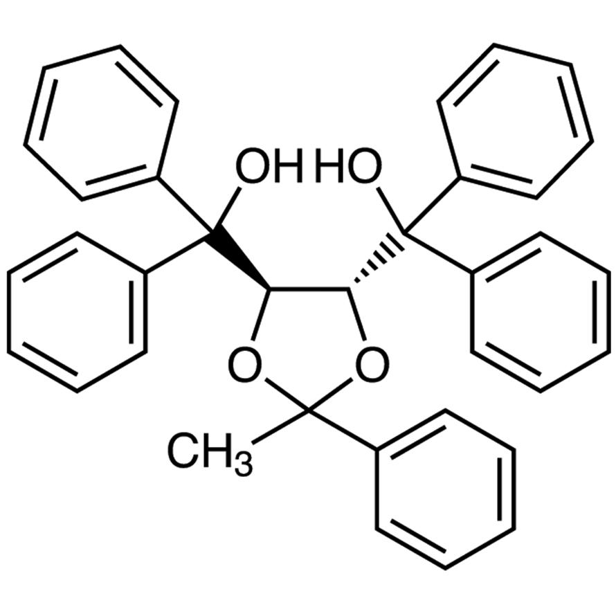 (+)-4,5-Bis[hydroxy(diphenyl)methyl]-2-methyl-2-phenyl-1,3-dioxolane