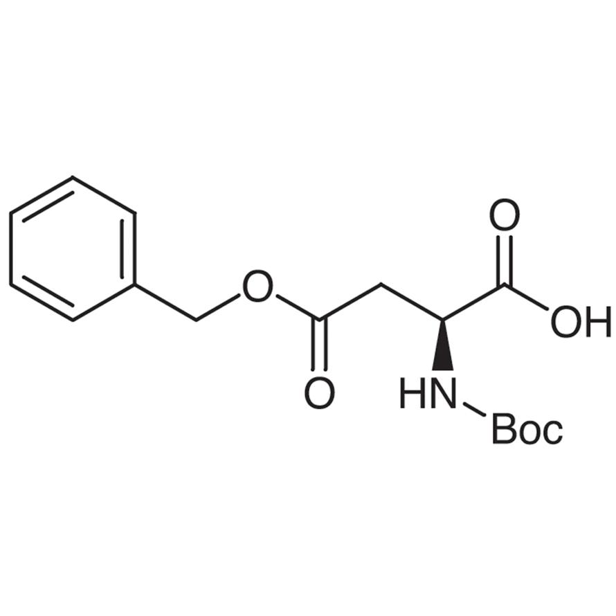 4-Benzyl N-(tert-Butoxycarbonyl)-L-aspartate