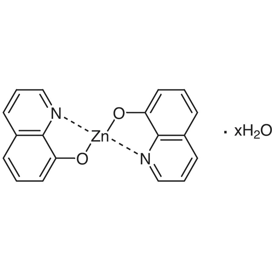 Bis(8-quinolinolato)zinc(II) Hydrate