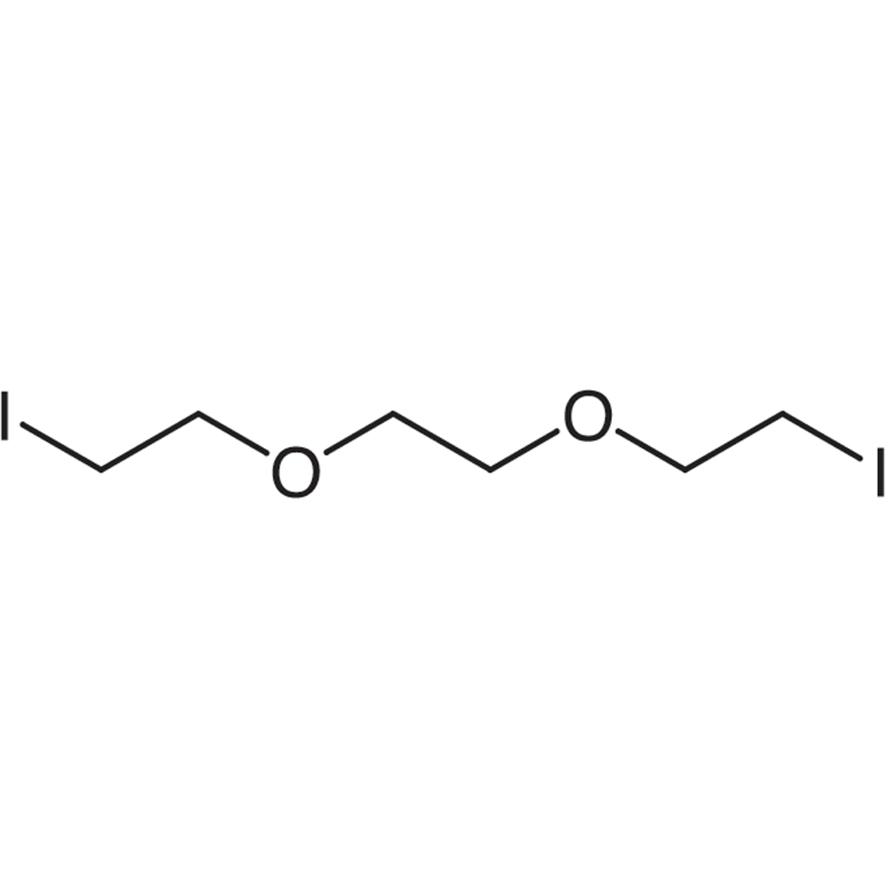 1,2-Bis(2-iodoethoxy)ethane (stabilized with Copper chip)