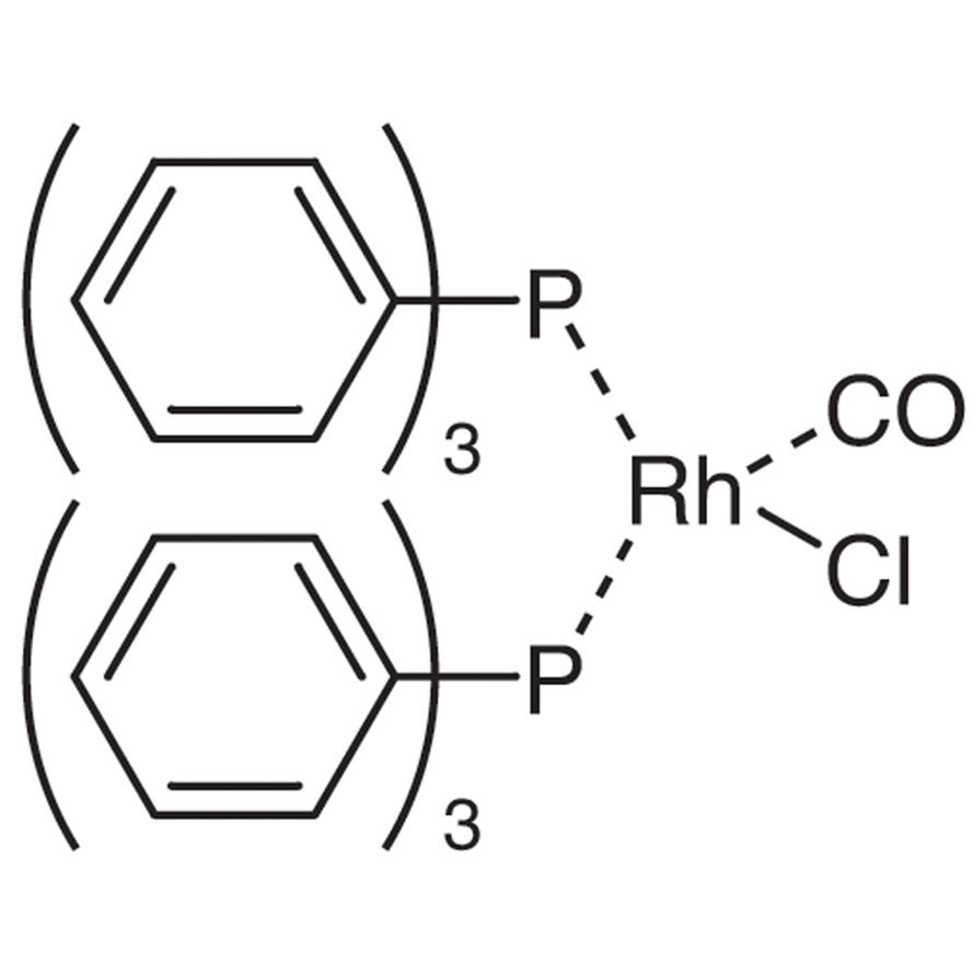 Carbonylbis(triphenylphosphine)rhodium(I) Chloride
