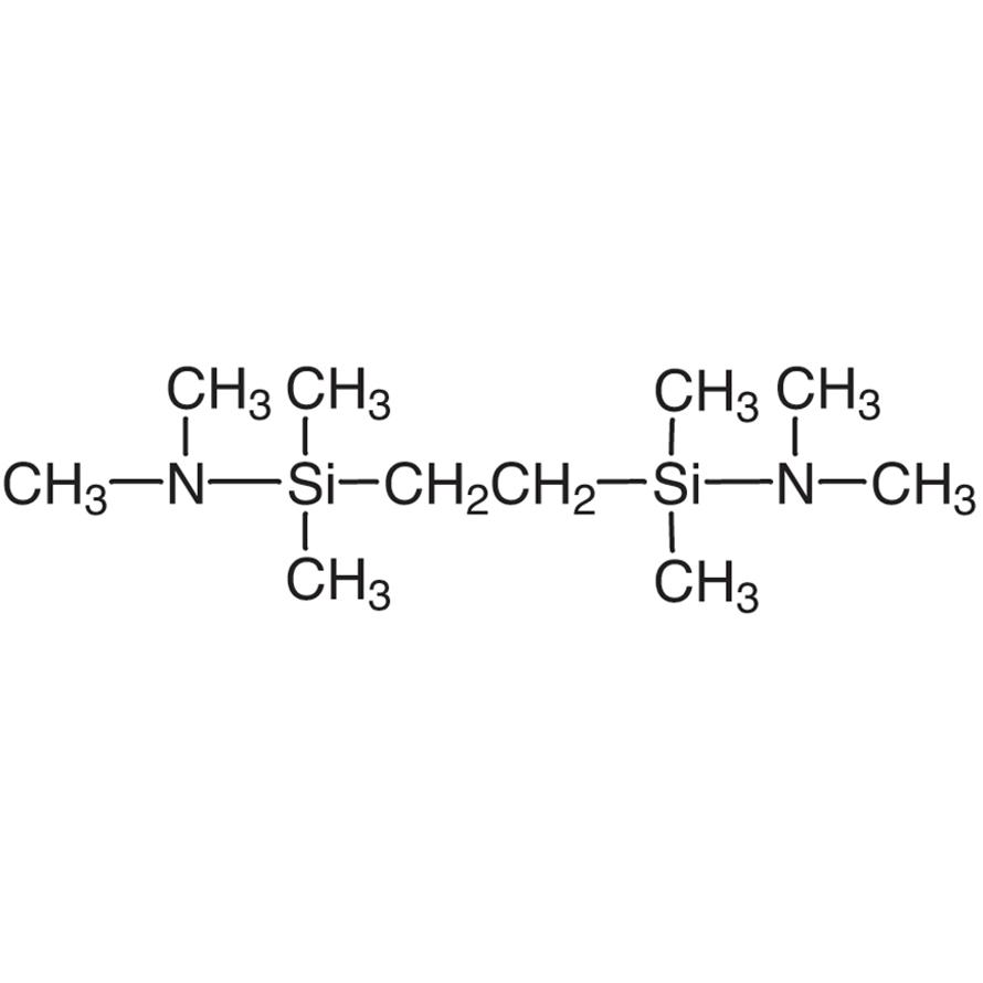 1,2-Bis[(dimethylamino)dimethylsilyl]ethane [Protecting Reagent for Aromatic Primary Amines]