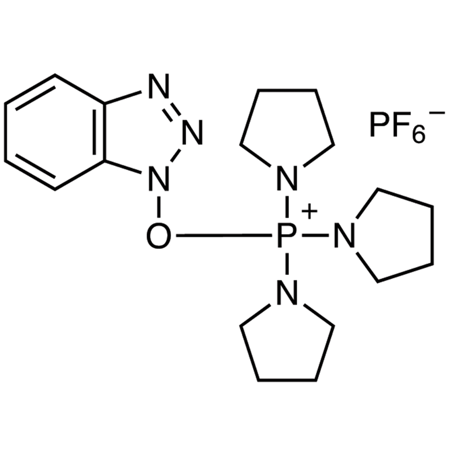 1H-Benzotriazol-1-yloxytripyrrolidinophosphonium Hexafluorophosphate [Coupling Reagent for Peptide]